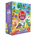 5 in 1 learning creative craft kit toy DIY set 5+ year art quilling sticker gift