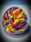 SUPERMAN GLASS PAPERWEIGHT UNIQUE HANDBLOWN RARE Nice Collection Addition