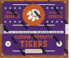 CLEMSON TIGERS 2016 Panini Football Factory Sealed BOX 24 pack 8 cards NEW