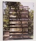 Maisons Materiaux Stone Glass Wood Architecture Residential French France Book
