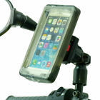 Phone Holder Scooter Moped Bike Mirror Mount  Rain Cover for Mobile Phones Smar
