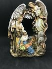 Josephs Studio One Piece Nativity made of resin stone mix Stands 10 tall