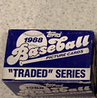 1988 TOPPS TRADED SERIES BASEBALL COMPLETE 132-CARD SET W Alomar Rookie