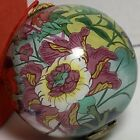 Metropolitan Museum of Art MET TOBACCO LEAF Blown Glass Ornament Reverse Paint