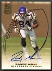 RANDY MOSS 1999 TOPPS CERTIFIED AUTO AUTOGRAPH ISSUE SSP *VIKINGS LEGEND*