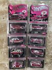 Hot Wheels RLC PINK Party car 8 carded Datsun 510 Batmobile Mustang Camaro VW