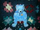 Ty Beanie Babies-Clubby VI the Bear (Blue Potbelly) MWMT & Retired! SHIPS FREE!