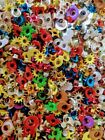 Fun Mix of 5000 Assorted 1 8 3 16 Shaped and Round Aluminum Eyelets and Rivets