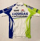 Sugoi Liquigas Cannondale Mens Cycling Jersey 1 2 Zip Sz S Made In Italy EUC