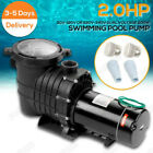2HPNEW ARRIVAL 110 240v Inground Swimming Pool pump motor Strainer ULCertified