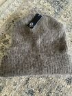 NWT Olive & Pique Angora Blend Brown beanie. Incredibly Soft