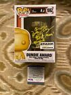 KATE FLANNERY SIGNED DUNDIE AWARD FUNKO POP RARE THE OFFICE PSA WITNESS ITP COA