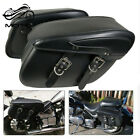 Motorcycle Saddlebags Luggage Tool Bag For Harley Sportster 883 Dyna Softail NEW