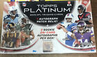 2013 Topps Platinum Football Factory Sealed Hobby Box