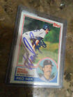 Wade Boggs 1983 Topps #498 rookie card [Autograph]
