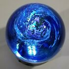 Milky Way PAPERWEIGHT Glass Eye Studio Celestial Series 325 w LIGHTED BASE