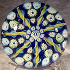 2 1 2 Caithness Whitefriars 1982 Radial Spoke Paperweight w Logo and Date Cane