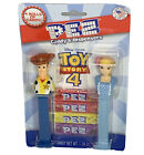 Disney Pixar Toy Story 4 PEZ Candy & Dispensers Twin Pack Woody and Bo Peep