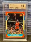 1986-87 Fleer Michael Jordan Rookie Card RC #57 BGS 9.5 GEM MINT Bulls F99