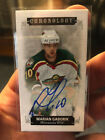 2019-20 UD Chronology Marian Gaborik Canvas Mini Autograph 30 Minnesota Wild