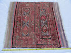 Antique Hand Woven Turkish Native American Kilim Style Flat Weave Rug B2