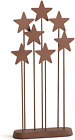 Willow Tree Metal Star Backdrop hand painted nativity accessory Soft brush