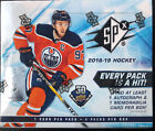 2018-19 SPX Upper Deck Hockey Factory Sealed Hobby Box Elias Pettersson RC
