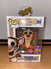 Funko Pop Disney Winnie The Pooh Tigger Bouncing Flocked SDCC 2017 Exclusive