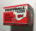 1989 TOPPS TRADED Football Factory UNOPENED Set out of case SANDER RC B02021310