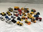 Lot 28 hot wheels matchbox Diecast construction farm machinery tractor truck MB