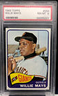 Vintage Willie Mays Baseball Card Timeline: 1951-1974 102