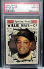 Vintage Willie Mays Baseball Card Timeline: 1951-1974 62