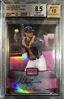 MIKE ZUNINO AUTO 2012 Leaf Draft Pink Ref 25 BGS Grade 8.5 10 Autograph ⚾️ Rays