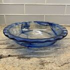 PYREX BLUE LAGOON WATERCOLOR 95 INCH IN 24 CM GLASS PIE PLATE SCALLOPED