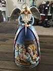 Jim Shore Heartwood Creek A Star Shall Guide Us Angel Nativity Gown 4003273