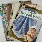 10 VTG Crochet Baby Books Leisure Arts Our Best Baby Afghans  Babys Book 144