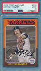 Catfish Hunter Cards, Rookie Card and Autographed Memorabilia Guide 9