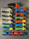 PEZ Trucks - lot of 17 - D series, Walmart, mini