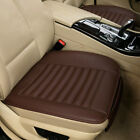 Car Front Rear Seat Cushion Cover Pad Soft Pu Leather For Auto Truck Suv