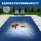 Custom Rectangle Swimming Pool Winter Safety Cover and Materials Mesh  Solid US