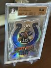 2012 Topps Finest Andrew Luck Lucky Cuts Rookie Graded BGS 9.5 Gem Mint
