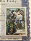 1983 Topps Tony Gwynn Signed Autographed Rookie Card With COA!! PSA Ready!! #482