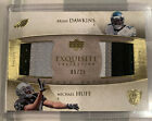 2006 Upper Deck Exquisite Brian Dawkins Michael Huff Combo Patch 25 Eagles