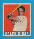 Ralph Kiner Baseball Cards and Autographed Memorabilia Guide 21