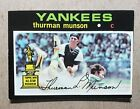 Top 10 Thurman Munson Baseball Cards 28