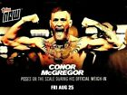 2017 Topps Now Mayweather vs. McGregor Trading Cards 5