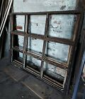 One Single Reclaimed Vintage Industrial Factory Steel Casement Window Frame