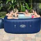 Lay Z Spa Hawaii Airjet Inflatable Hot Tub Easy To Install For Outoors Indoors