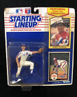 New 1990 Andres Galarraga Starting Lineup Figure Montreal Expos w/ 2 Cards