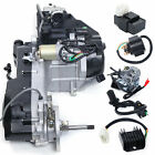 150CC GY6 Air Cooled Scooter ATV Go Kart Engine CVT auto clutch Motor Short Case